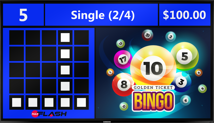 MaxFlash™ is a versatile video flashboard system designed to bring the classic bingo experience.