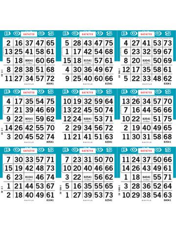 unimax 9on loose 1 9 000 series raffle paper blue